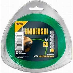 Леска триммерная UNIVERSAL 2.4мм 90м бесшумная Nylon Line (5776163-17) 8 0 0 50mm abrasion resistance nylon fishing line thread blue 100 m