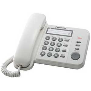 Проводной телефон Panasonic KX-TS2352RUW телефон ip panasonic kx nt553rub черный