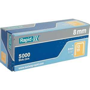 Скобы для степлера Rapid 8мм тип 13 5000шт (11835600) скобы для степлера rapid 12мм тип 53 5000шт workline 11859610