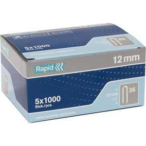 Скобы для степлера Rapid 12мм тип 36 5000шт Diverging Points (11885110) скобы для степлера rapid 12мм тип 53 5000шт workline 11859610