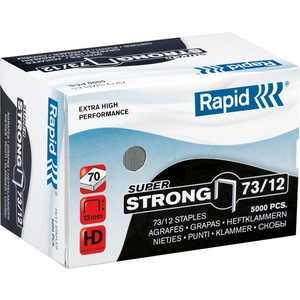 цены Скобы для степлера Rapid 12мм тип 73 5000шт SuperStrong (24890800)