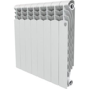 Радиатор отопления ROYAL Thermo алюминиевый Revolution 500/8 секций радиатор royal thermo revolution 500 6 секций