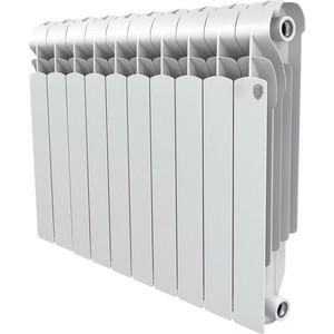 Радиатор отопления ROYAL Thermo алюминиевый Indigo 500/10 секций алюминиевый радиатор royal thermo revolution 500 10 секций