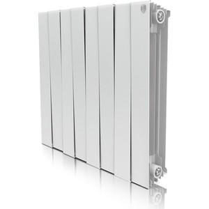 Радиатор отопления ROYAL Thermo биметаллический Piano Forte 500/Bianco Traffico/8 секций royal thermo алюминиевый indigo 500 8 секций