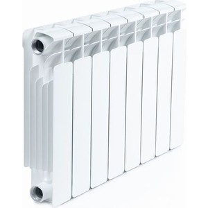 Радиатор отопления RIFAR Base 350 8 секций радиатор отопления алюминиевый halsen 350 80 12