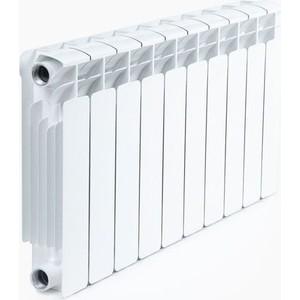 Радиатор отопления RIFAR Base 350 10 секций радиатор отопления алюминиевый halsen 350 80 12