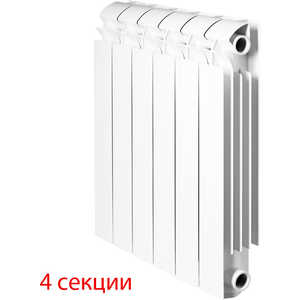 Радиатор отопления Global алюминиевые VOX - R 350 (4 секции)