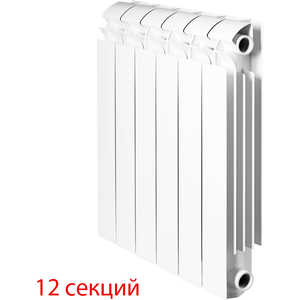 Радиатор отопления Global алюминиевые VOX - R 350 (12 секций) радиатор отопления алюминиевый halsen 350 80 12