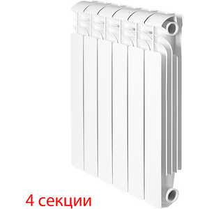 Радиатор отопления Global алюминиевые ISEO - 350 (4 секции) радиатор отопления алюминиевый halsen 350 80 12
