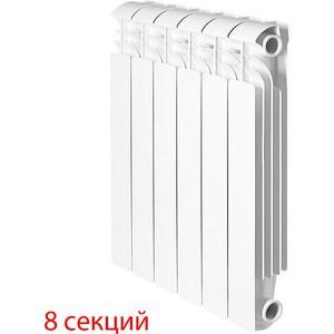 Радиатор отопления Global алюминиевые ISEO - 500 (8 секций) радиатор отопления global алюминиевые vox r 500 12 секций