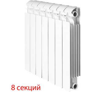 Радиатор отопления Global биметаллические STYLE PLUS 350 (8 секций) global global style plus 500 11 секций радиатор