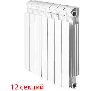 Радиатор отопления Global биметаллические STYLE PLUS 350 (12 секций) радиатор отопления алюминиевый halsen 350 80 12