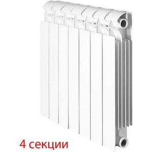 Радиатор отопления Global биметаллические STYLE PLUS 500 (4 секции) радиатор отопления global биметаллические style plus 500 12 секций