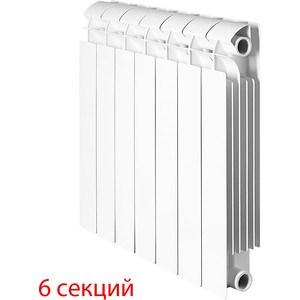 Радиатор отопления Global биметаллические STYLE PLUS 500 (6 секций) радиатор отопления global алюминиевые vox r 500 12 секций