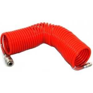 Шланг спиральный Elitech 8х10мм 10м быстросъем. (0704.007701)