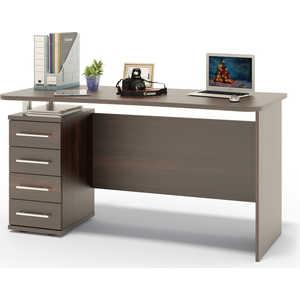 Стол компьютерный СОКОЛ КСТ-105.1 венге компьютерный стол сокол кст 107 1 кн 24 венге
