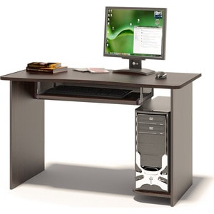 Компьютерный стол СОКОЛ КСТ-04.1 венге сокол стол компьютерный кст 06