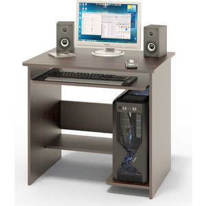 Стол компьютерный СОКОЛ КСТ-01.1 венге компьютерный стол сокол кст 101 кт 101 1