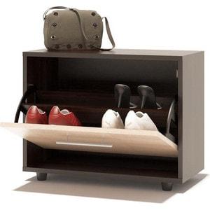 Тумба СОКОЛ ТП-1 венге/беленый дуб тумбочка мебель трия прикроватная токио пм 131 03 см дуб белфорт венге цаво