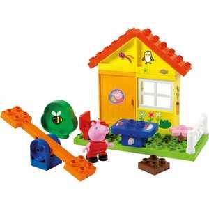 Конструктор BIG Летний домик Peppa Pig 57073 конструктор big игровая площадка peppa pig 57076