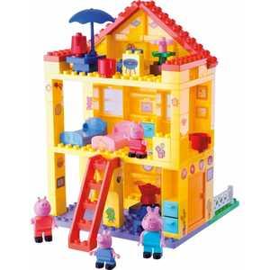 Конструктор BIG Любимый дом Peppa Pig 57078 конструктор big игровая площадка peppa pig 57076