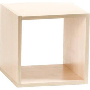 Полка Вентал Арт Кубик-1 беленый дуб
