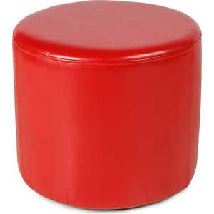 Пуф Вентал Арт ПФ-5 (круглый) красный