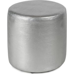 Пуф Вентал Арт ПФ-5 (круглый) серебристый