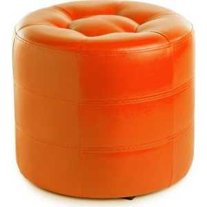 Пуф Вентал Арт ПФ-7 (круглый) оранж пуф вентал арт пф 7 круглый белый