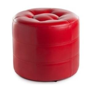 Пуф Вентал Арт ПФ-7 (круглый) красный