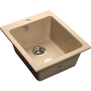 Мойка кухонная GranFest GF-P505 песочный 505х430  granfest gf s780l песочный