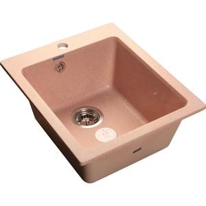 цена на Мойка кухонная GranFest GF-P505 розовый 505х430
