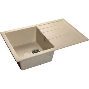 Мойка кухонная GranFest GF-Q780L белый 780x500 granfest gf q780l бежевый