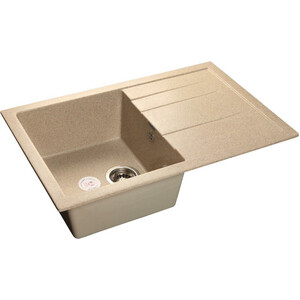 Мойка кухонная GranFest GF-Q780L песок 780x500 мойка кухонная granfest гранит 565x510 gf q560 песок