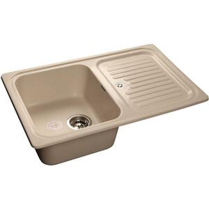 Мойка кухонная GranFest GF-S780L белый чаша крыло gf go7400 b