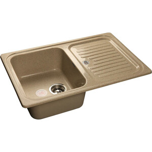 Мойка кухонная GranFest GF-S780L песок чаша крыло  granfest gf s780l песочный