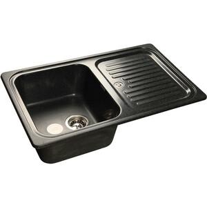 Мойка кухонная GranFest GF-S780L черный чаша крыло цена и фото