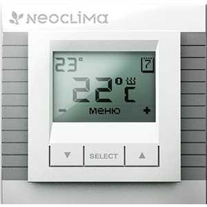 Neoclima TN-DP/LCD, терморегулятор