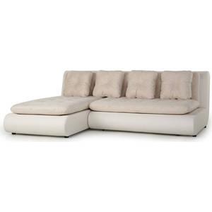 Диван угловой SettySet Кормак (Рио) бежевый диван угловой settyset кормак мини коричневый