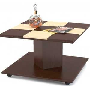 Стол журнальный МегаЭлатон Эдем 11, венге+ваниль