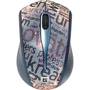 Мышь Defender StreetArt MS-305 Nano Grey (52305)