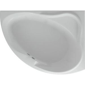 Акриловая ванна Акватек Альтаир 160х120 правая, фронтальная панель, каркас, слив-перелив