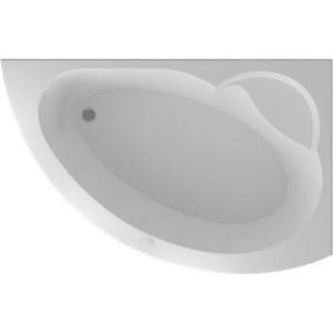 Акриловая ванна Акватек Аякс 2 (без стекла) 170х110 правая, фронтальная панель, каркас, слив-перелив