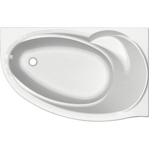 Акриловая ванна Акватек Бетта 170х95 правая, фронтальная панель, каркас, слив-перелив
