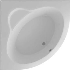 Акриловая ванна Акватек Калипсо 146х146 фронтальная панель, каркас, слив-перелив фронтальная панель акватек дива 170 правая efpadp170