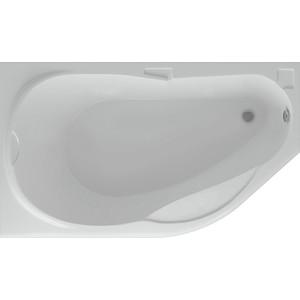 Акриловая ванна Акватек Таурус 170х100 левая, фронтальная панель, каркас, слив-перелив фронтальная панель акватек дива 170 правая efpadp170