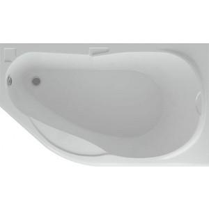 Акриловая ванна Акватек Таурус 170х100 правая, фронтальная панель, каркас, слив-перелив