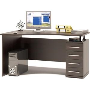 Стол компьютерный СОКОЛ КСТ-104.1 правый венге