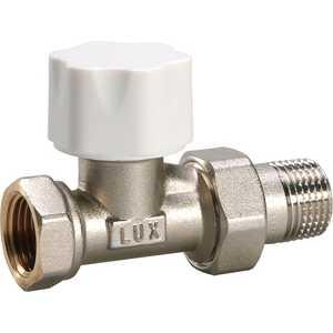 Вентиль LUXOR термостатический под термоголовку линейный Thermo tekna RD 201 1/2 luxor rd 455 разъемное соединение g 1 1 2