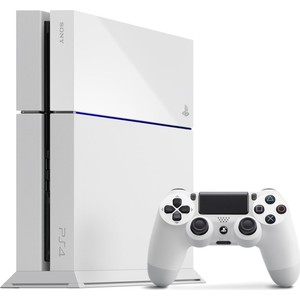 Игровая приставка Sony PlayStation 4 500Gb, white RUS